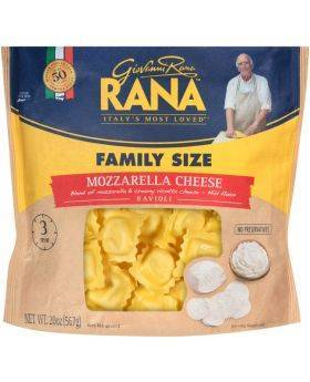 RANA Mozzarella Cheese Ravioli, 20oz