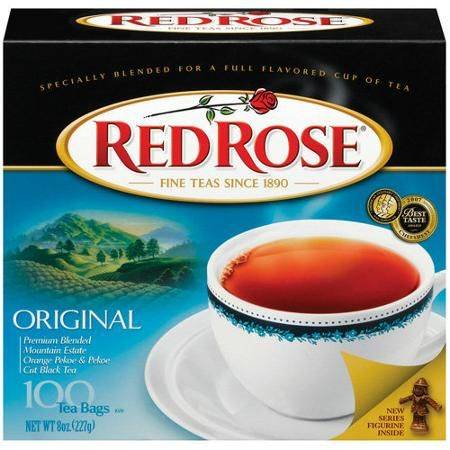 Red Rose Tea 2pk x100ct