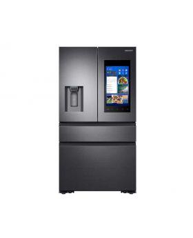Samsung 22 cu. ft. Capacity Counter Depth 4-Door French Door Refrigerator with Family Hub