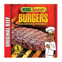 Reggae Jammin Seasoned Beef Burger, 3pk/425g