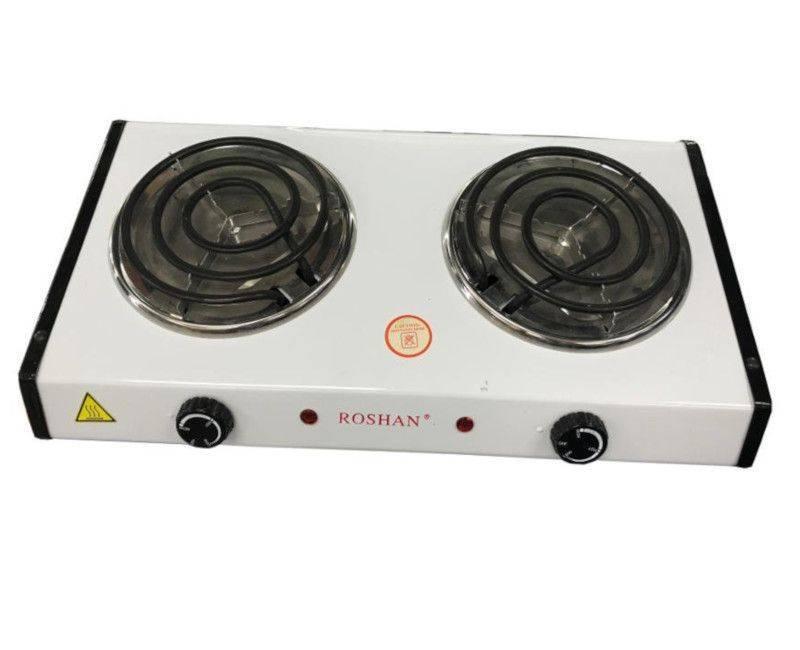 Roshan Electric 2 Burner Cook Top Table Top Hot Plate