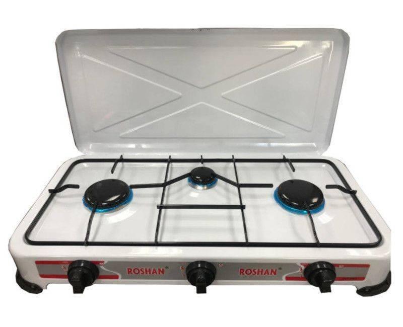 Roshan JNY - FN3 High Energy Efficient 3 Burner Table Top Gas Stove