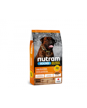 S8 Nutram Sound Balanced Wellness Large Breed Adult Natural Dog Food