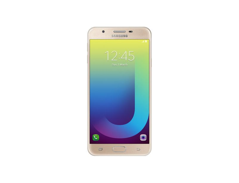 Front view of the Samsung Galaxy J7 Prime Cellphone
