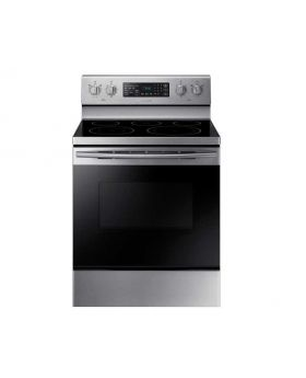 30 in. 5.9 cu. ft. Single Oven Electric Range with Self-Cleaning and Convection Oven in Stainless Steel