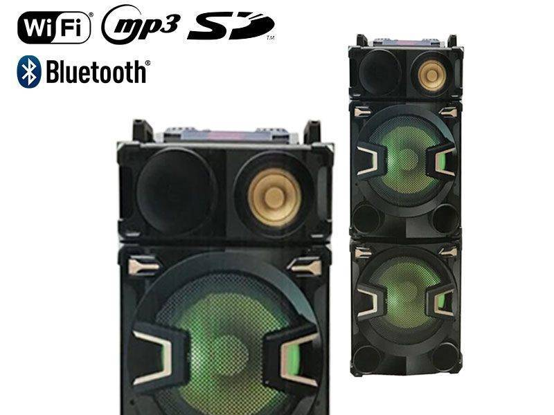 Sound Blast Party Speaker Mustang 1800 Watts