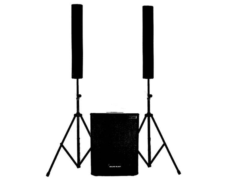 Sound Blast Twin Towers 3100 Watts