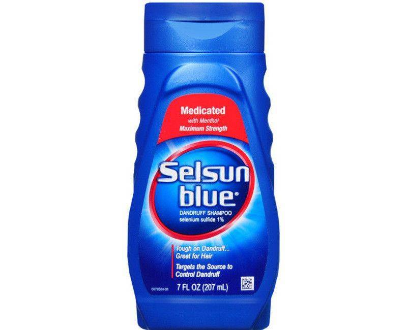 Selsun Blue Medicated maximum strength dandruff shampoo