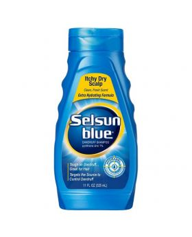 Selsun Blue Dandruff Shampoo Itchy Scalp