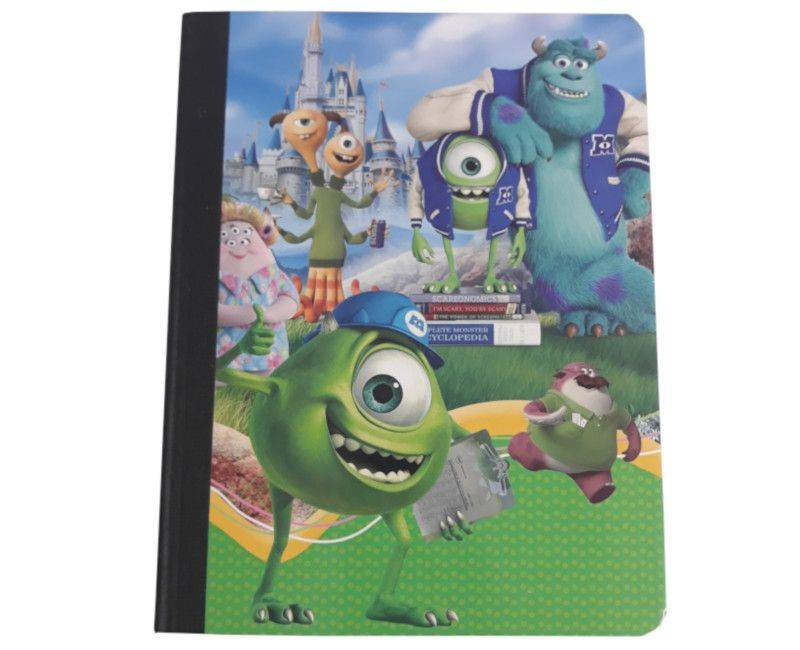 Monsters University Character 5 Pack Hardcover Notebooks