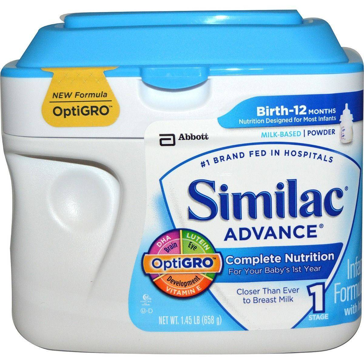 Similac Early Shield Advance Formula 658g