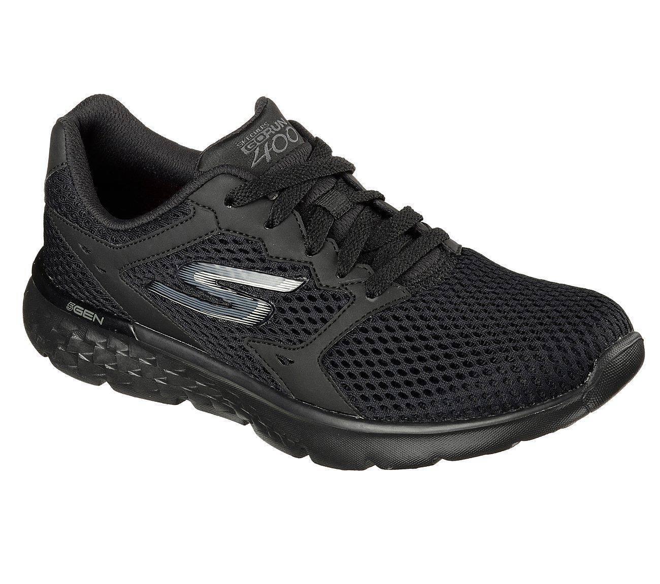 Skechers GORUN 400 Black sneakers for Women -8