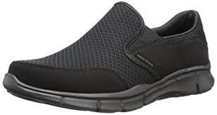 Skechers Equalizer Charcoal Slip On Shoes for Men 51361-9.5