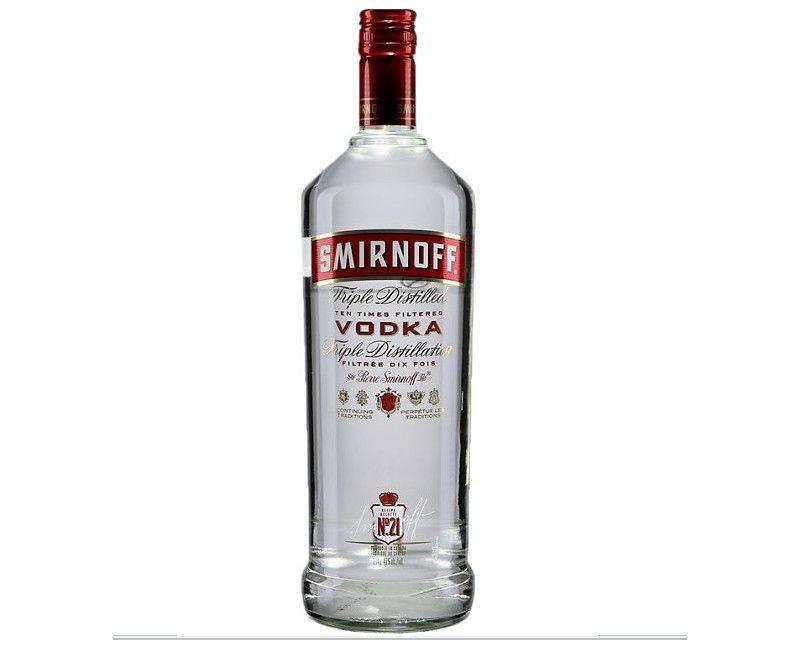 Smirnoff Triple Distilled Ten Time Filtered Vodka 750ml