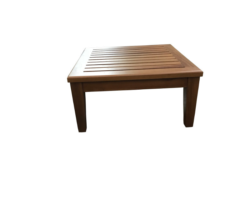 Square Coffee Wooden Outdoor Lyn Ottoman