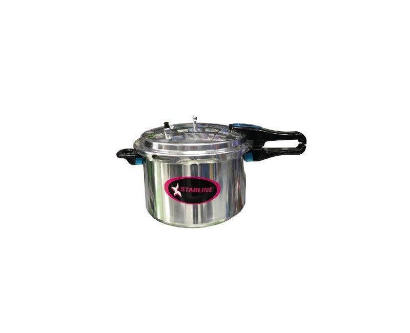 Starline PC5501 22CM Aluminum 5.5 Liter Pressure Cooker