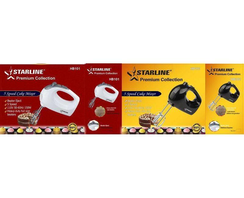 Starline 5 speed cake mixer hand blender