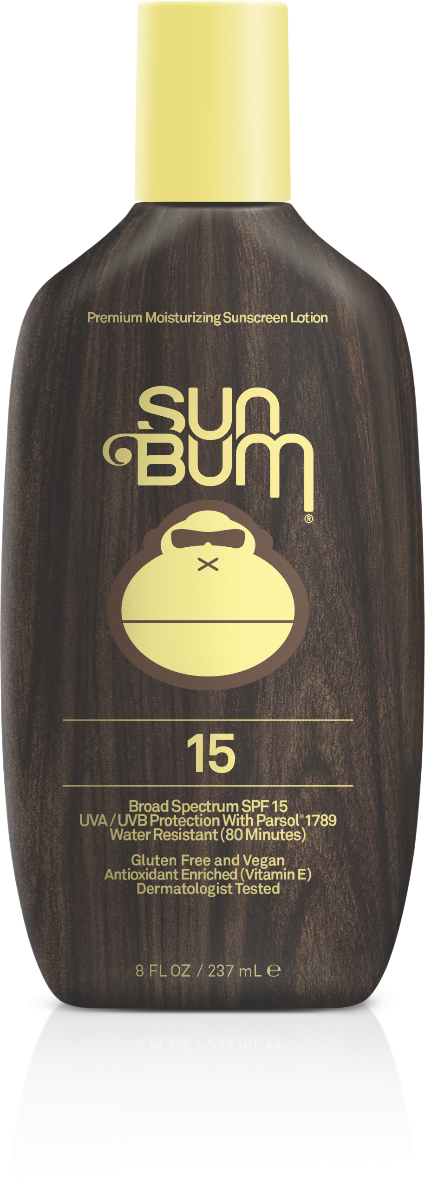 Sun Bum SPF 15 Moisturizing Sunscreen Lotion 8 FL. OZ.