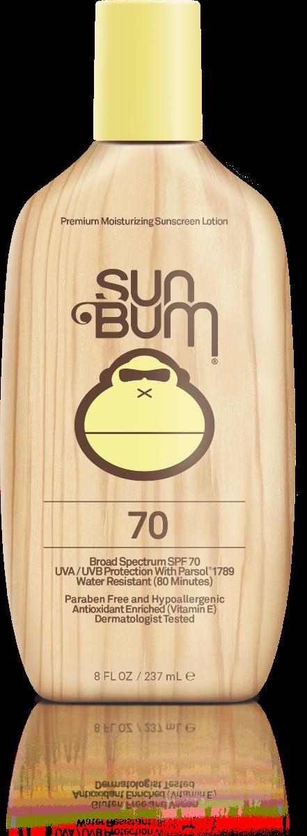 Sun Bum SPF 70 Moisturizing Sunscreen Lotion 8 FL. OZ