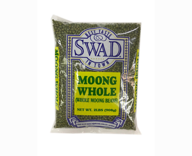 Swad Best Taste In Town Whole Moong Beans 2 lbs.