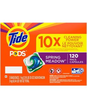 Tide PODS Spring Meadows 120 Count