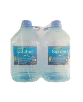 5-Liter Top Shelf Alkaline Spring Water Twin-Pack