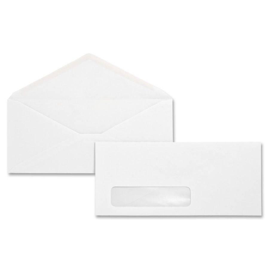 #10 White Window Envelope