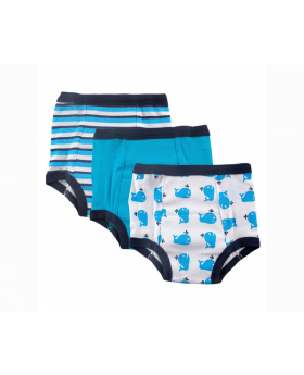 Training Pants 3 Pack Whale - Boys 18M