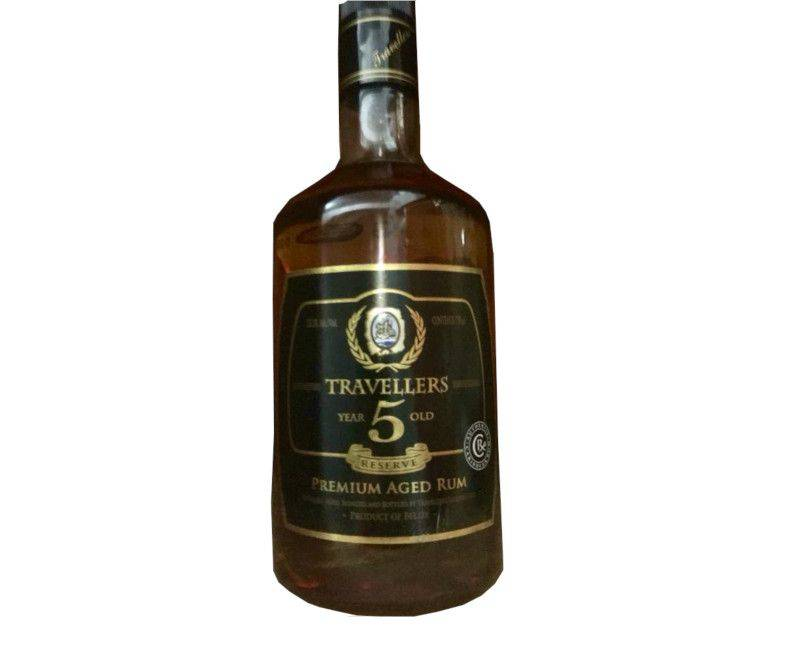 Travellers Belize 5 Barrel Premium Aged Rum 750ml 35.1%