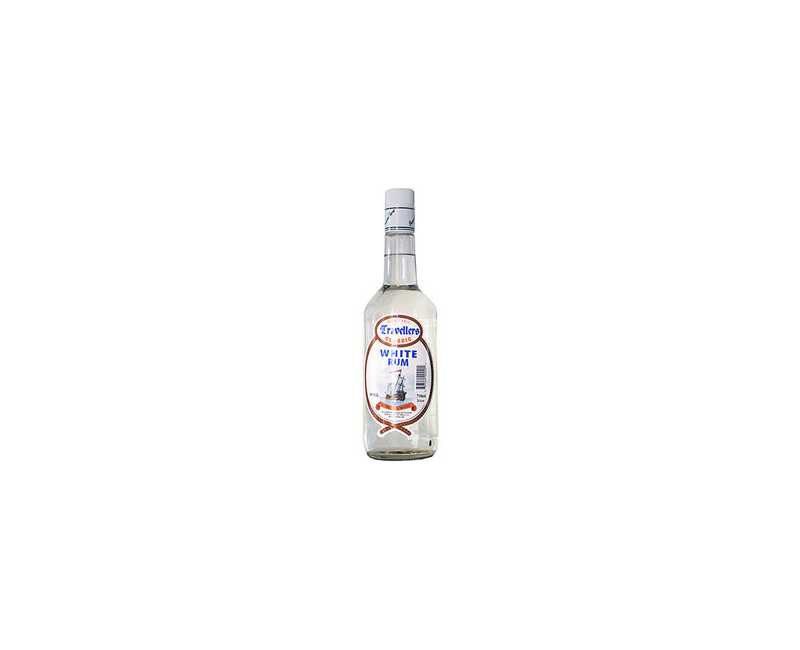 Travellers Classic Belize White Rum 1 Litre 38%