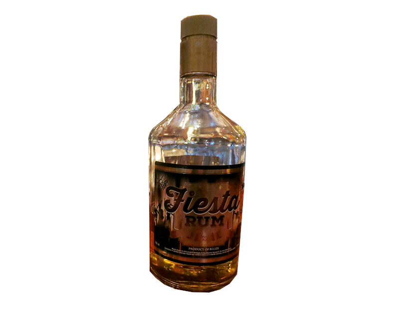 Travellers Fiesta Spiced Rum 700ml 34%