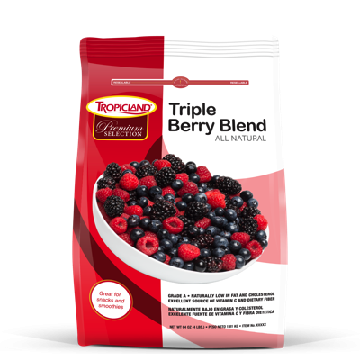 Tropicland Triple Berry Blend, 4lbs
