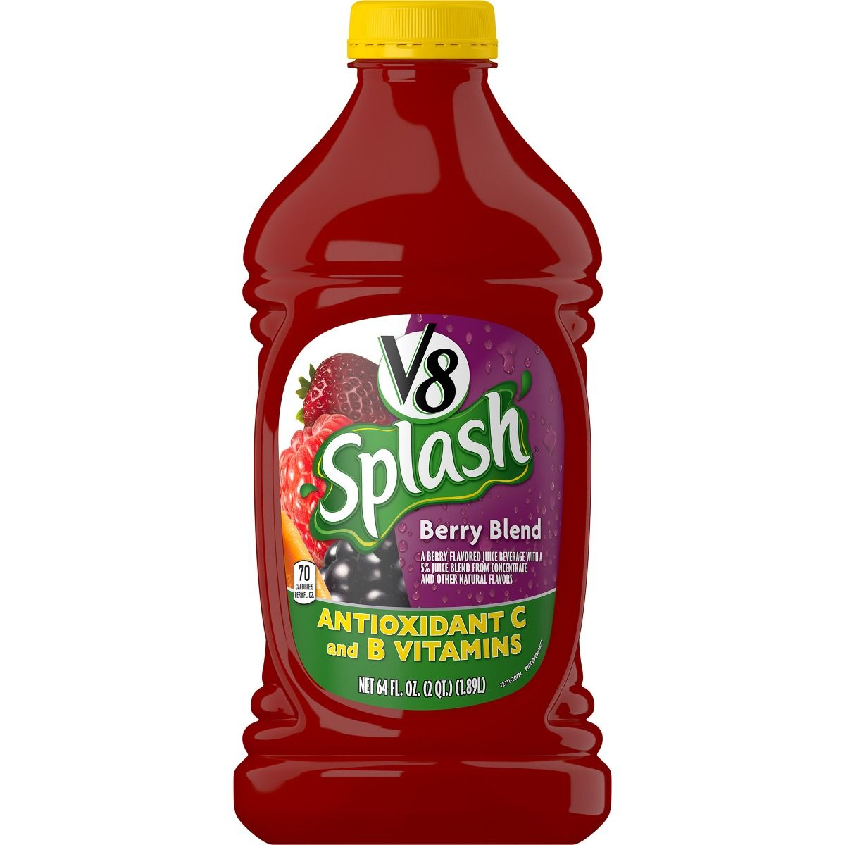 V8 Splash Berry Blend, 64 oz