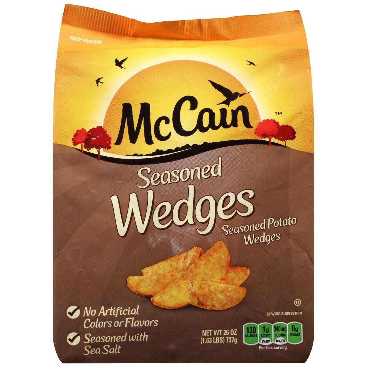 McCain Seasoned Wedges