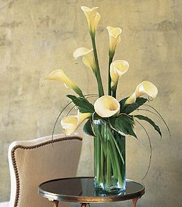 White Callas Floral Arrangement
