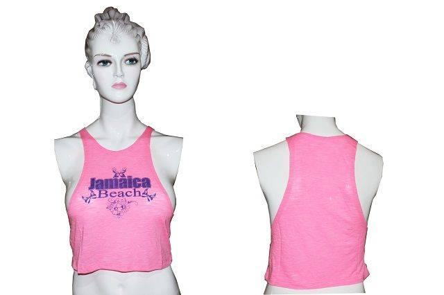 Women's Neon Pink Tank Top