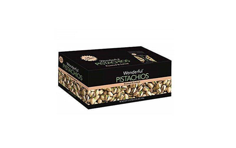 Wonderful Roasted Salted Pistachios 1.5oz x24 Pk
