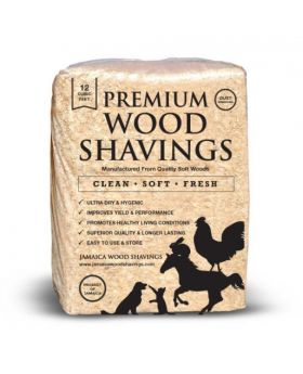 Premium Wood Shavings 13 kg Bale