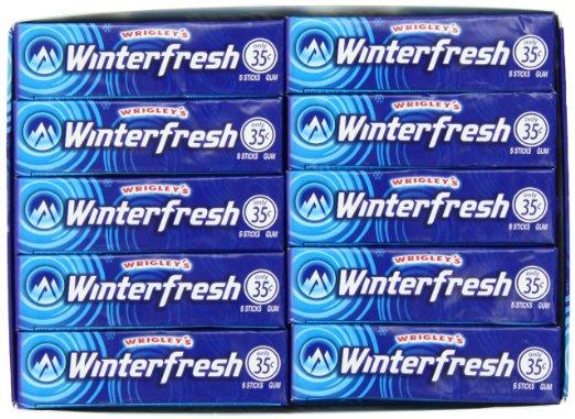 Wrigley's Winterfresh 40 Pack Chewing Gum