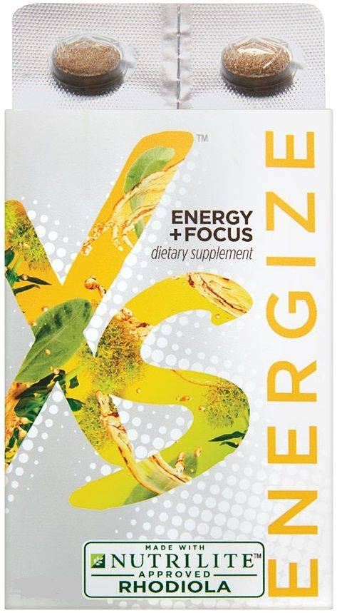 Nutrilite XS Energy and Focus Rhodiola