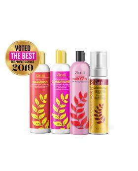 Zimii Wash Set Go Value Pack  - Natural Hair