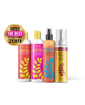 Zimii Wash Set Go Value Pack  - Relaxed Hair