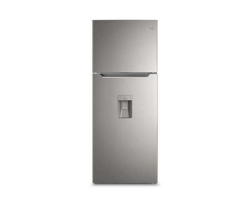 Frigidaire 15 Cubic Refrigerator  Stainless Steel  With Water Dispenser