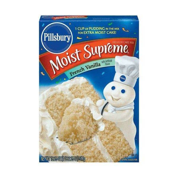 Pillsbury French Vanilla Cake Mix 432g
