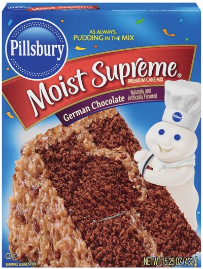 Pillsbury German Cake Mix 432g
