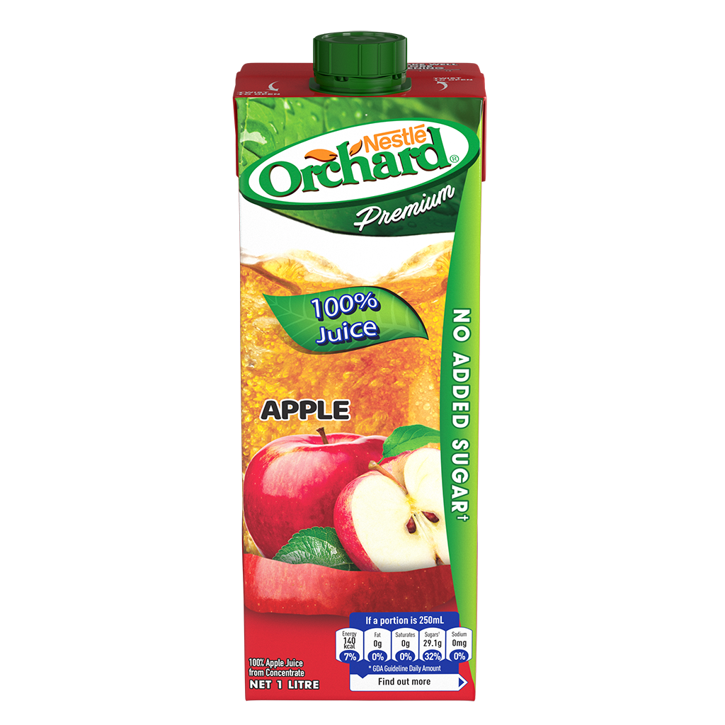 ORCHARD 100% Apple Juice 1L Carton
