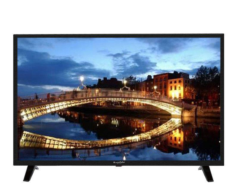 "Blackpoint 39"" HD LED TV with 2 Remotes"