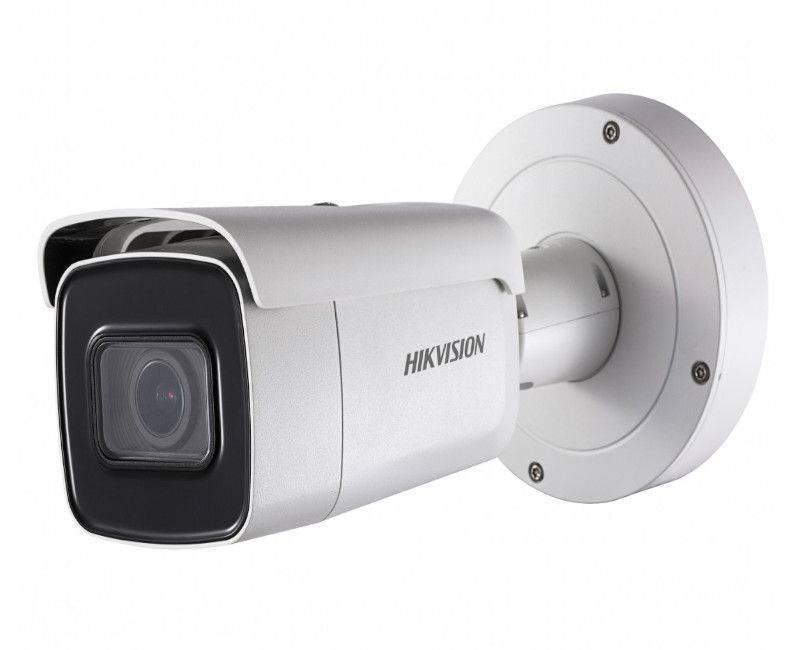 HIK - IP 2MP DS-2CD2623G0-IZS Bullet Camera Motorized 2.8-12mm Lens IR 30m H265+ 3D DNR IP67 IK10 12VDC & PoE Audio/Alarm I/O