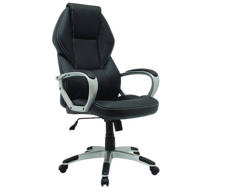 Xtech QZY-1110  Black Montpellier Manager's Chair
