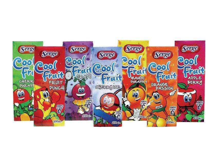 Cool Fruit Assorted 24pk x200ml